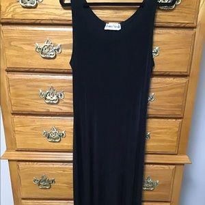 Ronnie Nicole Maxi  Dress. Black Sz L